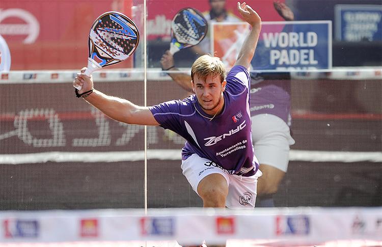Ernesto Moreno, a punto de afrontar su debut en el Cervezas Victoria Málaga Máster