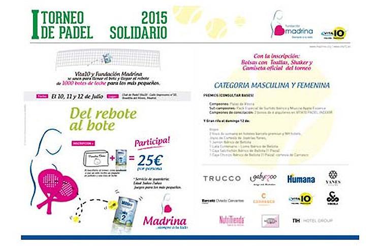Torneo Solidario Fundación Madrina - Vita 10
