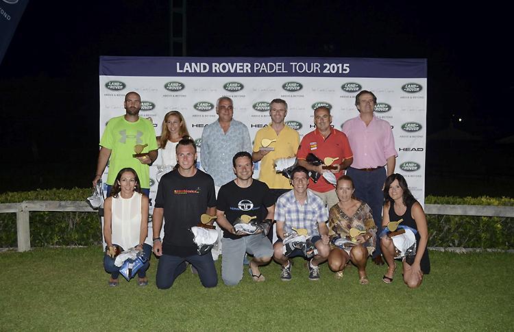 Ganadores de la prueba del Land Rover Pádel Tour en Jerez de la Frontera