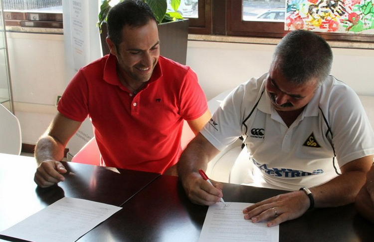 Adrián Caviglia sigue dando pasos en su aventura italiana (Vibor-A)