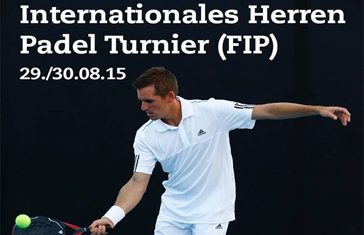 Cartel de las Internationales Herren Padel Turnier