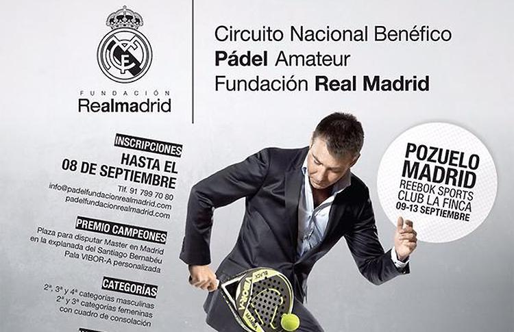El Circuito Benéfico Fundación Real Madrid, listo para recalar en el Reebok Sports Club La Finca