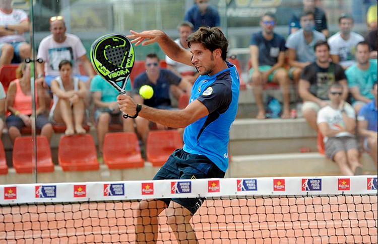 Nacho Gadea, en el Estrella Damm La Nucía Open