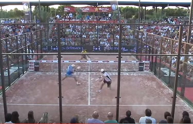 Gran puntazo en el partido Juani Mieres-Pablo Lima vs Seba Nerone-Sanyo Gutiérrez