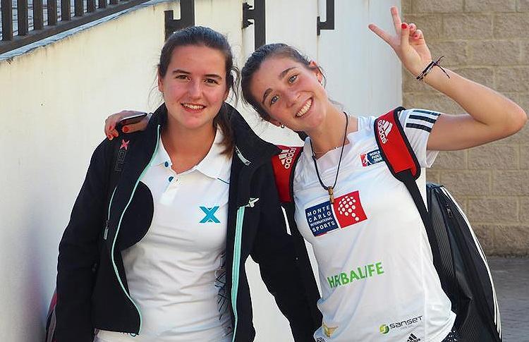 Ariana Sánchez y Marta Ortega, listas para luchar por la conquista del Campeonato de España de Menores
