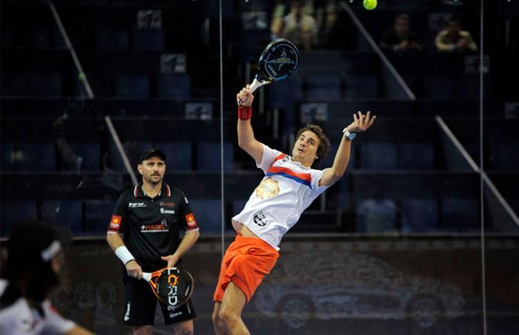 Fede Quiles y Jordi Muñoz, en el Estrella Damm Madrid Open