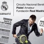 Cartel del Torneo que el Circuito Benéfico de la Fundación Real Madrid celebrará en Guadalajara