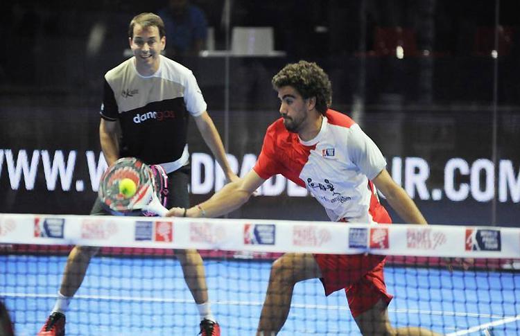 Juan Lebrón y Marcello Jardim, en el Estrella Damm Sevilla Open