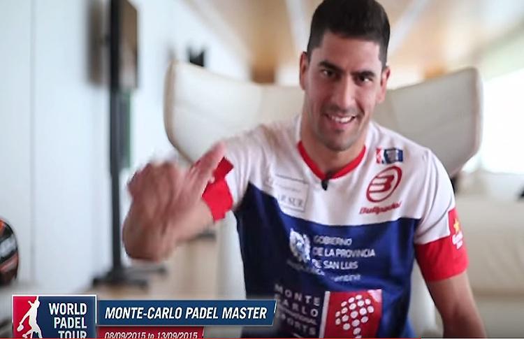 Maxi Sánchez te espera en el Monte-Carlo Padel Master