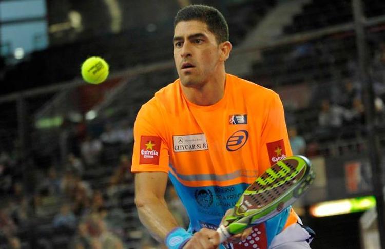 Maxi Sánchez, en el Estrella Damm Madrid Open