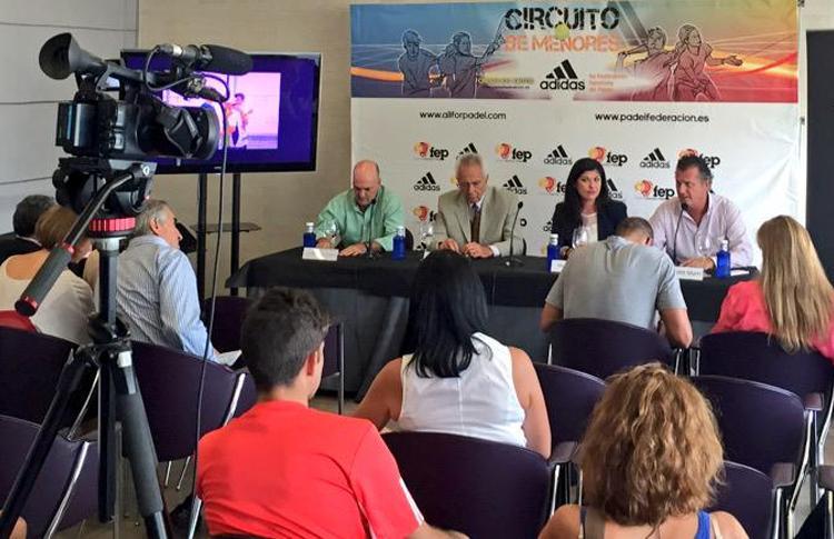 Presentación del Campeonato de España de Menores 2015