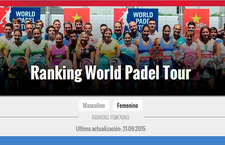 Cambio en la forma de calcular el Ranking World Pádel Tour