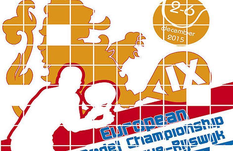 Cartel del IXº Campeonato de Europa de Pádel