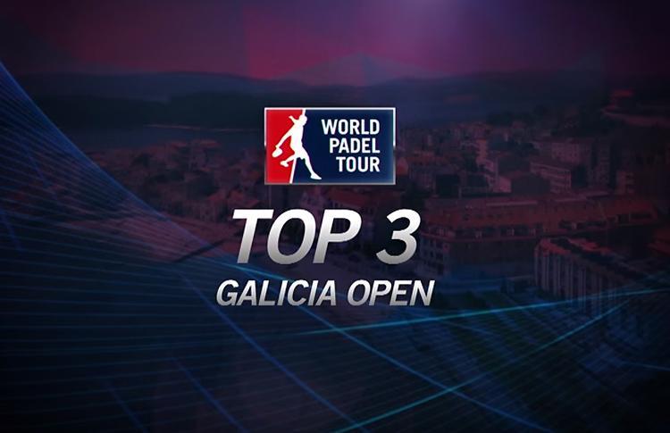 El Top 3 de Puntakos del Galicia Open