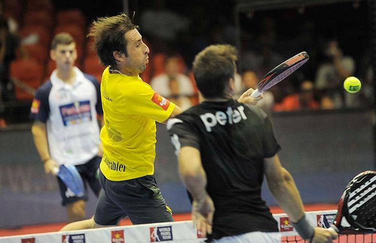 Maxi Grabiel, en el Estrella Damm Sevilla Open