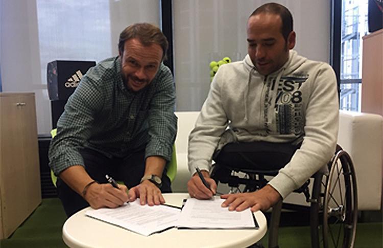 Óscar Agea y Rubén Castilla, nuevos jugadores del Adidas Pádel Team