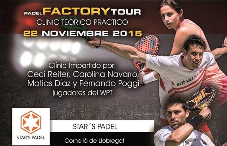El Factory Tour de Star Vie llega a Stars Pádel