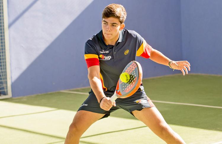 Javi García, una de las grandes promesas de la Selección Española que jugarán el Mundial de Menores