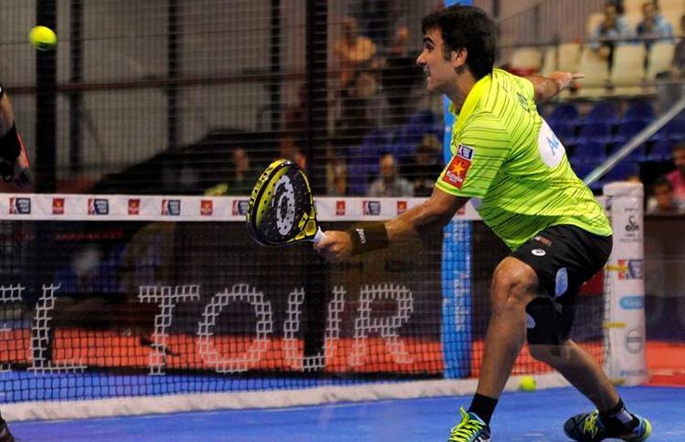 Pablo Lima, en acción en el Galicia Open
