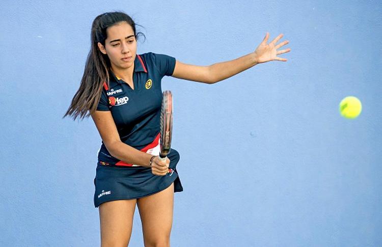 Marina Gonsalvez, jugadora de la Selección Española para el Mundial de Menores