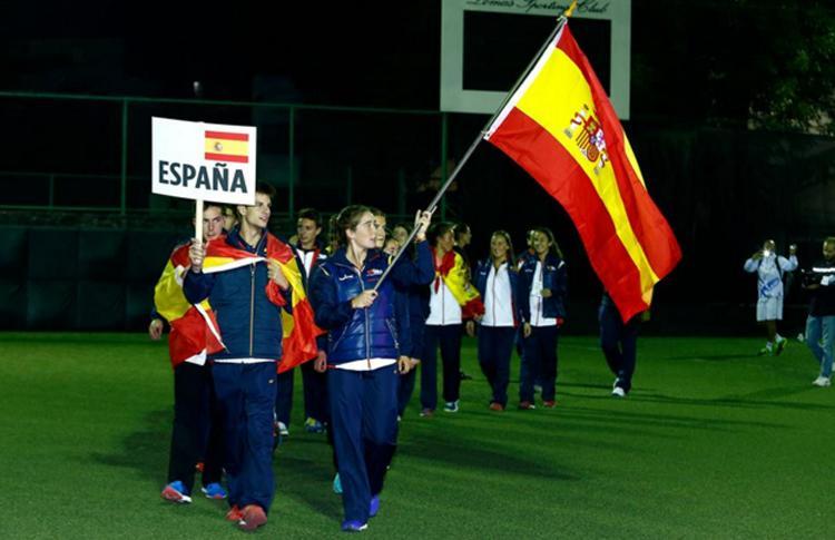 Marta Ortega, abanderada de la Selección Española en el Mundial de Menores