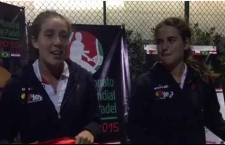 Martita Ortega y Ari Sánchez, en su despedida al Circuito de Menores