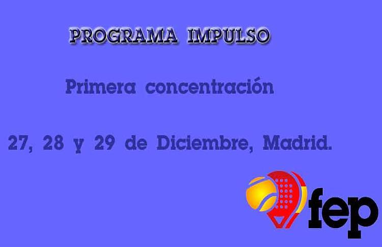 La Federació Española de Pádel pone en marcha el 'Programa Impulso'