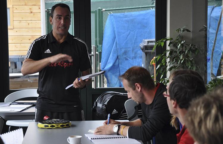 Mauri Muñoz, Technical Advisor de la selección de Bélgica en el Campeonato de Europa de Pádel