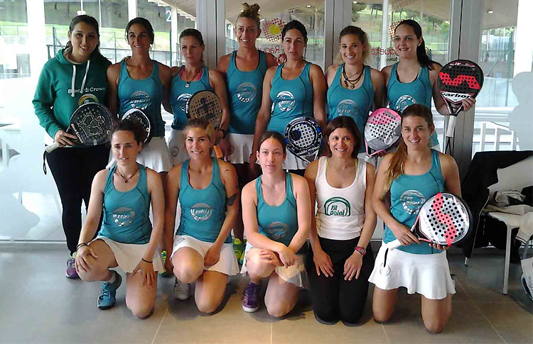 Jugadoras del Club Fit Point