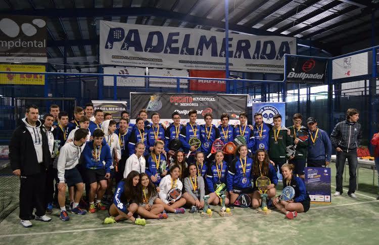 Las jóvenes promesas del pádel español volvieron a demostrar todo su talento