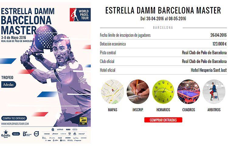 Barcelona Máster: Muchos alicientes para una prueba que promete ser apasionante