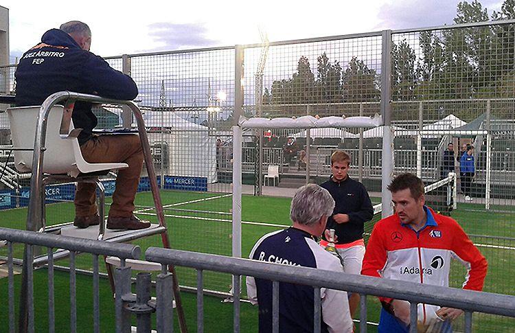 Peter Alonso, en acción en el Campeonato de España Absoluto