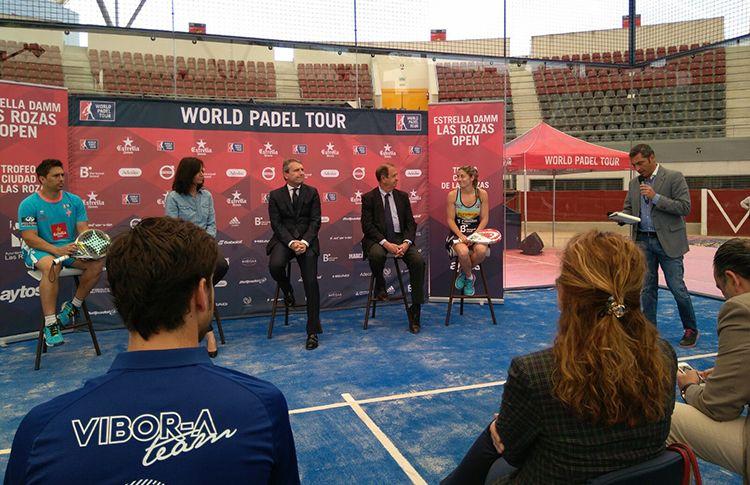 Presentación del Estrella Damm Las Rozas Open (World Pádel Tour)