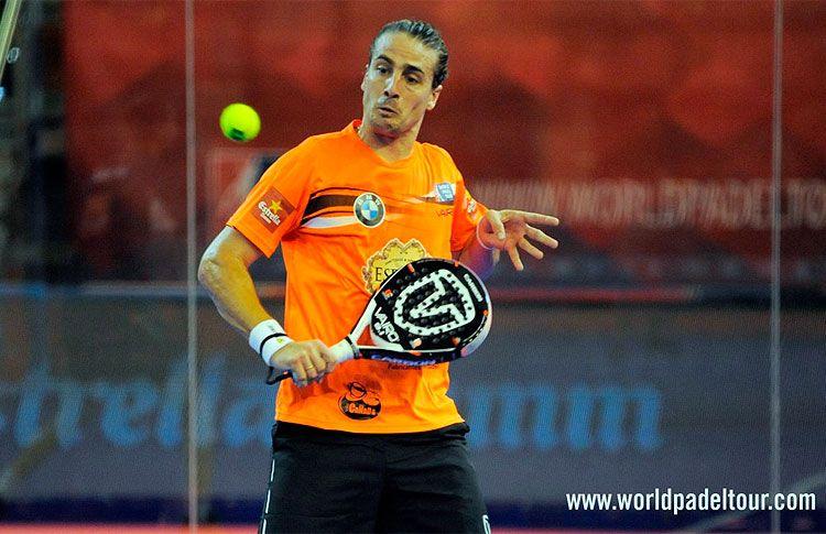 Fede Quiles, en acción en el A Coruña Open 2016