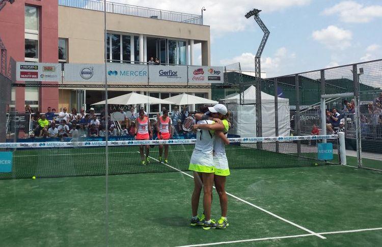 Lucía Sainz-Gemma Triay, nuevas Campeonas de España Absolutas