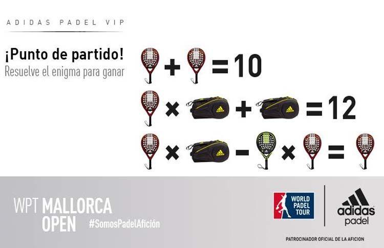Adidas te invita a vivir una 'Experiencia Vip' en el Mallorca Open
