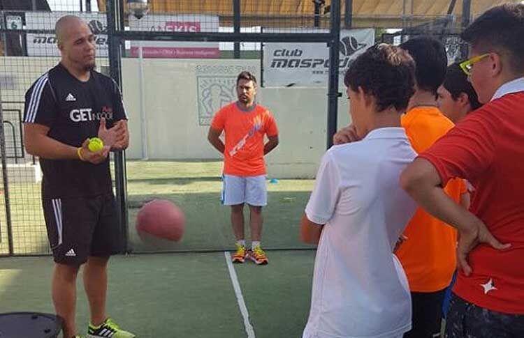 Álex Jordan: 'Trabajo duro' y diversión en el Campus de Matías Díaz