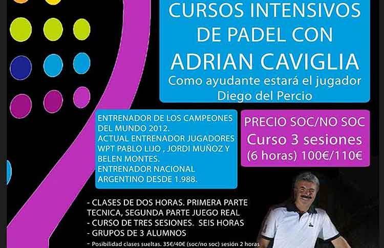 Adrián Caviglia impartirá unos cursos con mucho 'Colors'