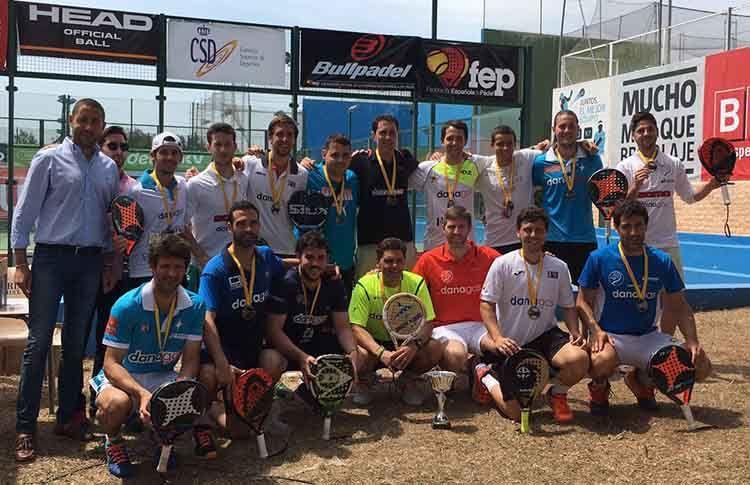 Danagas, vencedores del Campeonato de España por Equipos de 3ª Categoría