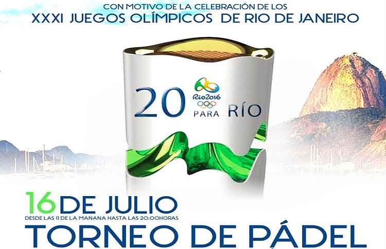 El pádel será 'pre-Olímpico' en los Juegos de Río