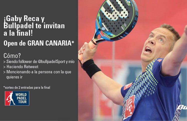 Vive la final del Gran Canaria Open junto a Bullpadel y Gaby Reca