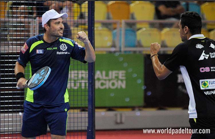 Jordi Muñoz y Pablo Lijó, en acción en el Gran Canaria Open