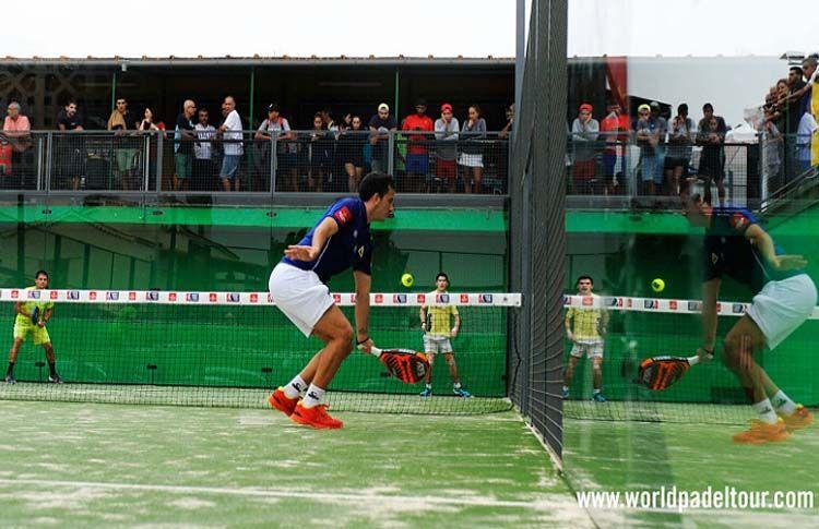 Juan Cruz Belluati, en acción en la Previa del Gran Canaria Open
