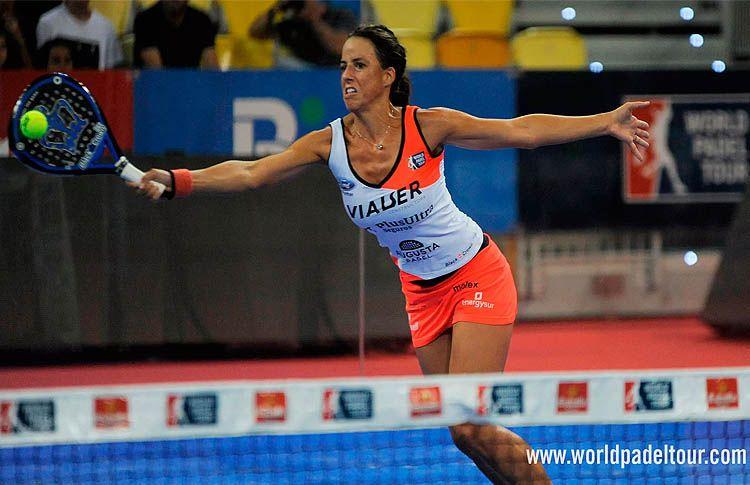 Marta Marrero, en la Exhibición del Gran Canaria Open