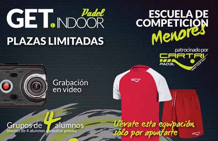 Escuela de Menores GET Indoor by Cartri