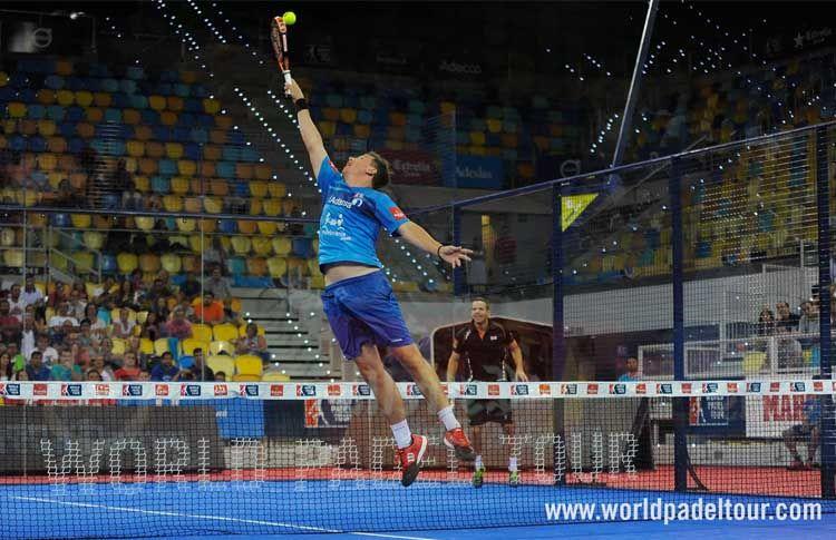 Paquito Navarro, en acción en el Gran Canaria Open