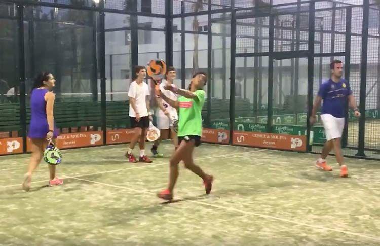 Vídeo: Un entrenamiento del Team SANE