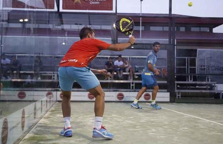Cristian Germán Gutiérrez, en acción en el Joma Barcelona Challenger