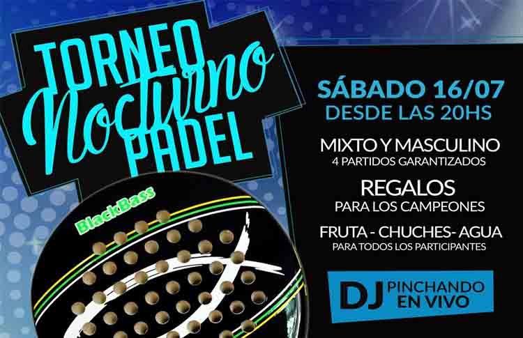 Cartel del torneo de A Tope de Pádel en Madrid Norte