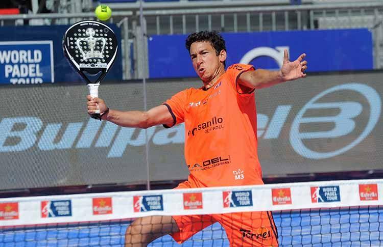 Uri Botello, en acción en el Valladolid Open